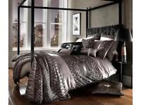 Kylie Minogue Home Esta Truffle Double Duvet Cover Bedding Bed Linen
