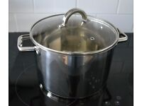 Stainless steel stockpot 24 cm 7 L as new