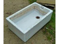 Reclaimed Vintage Ceramic Butler/Belfast Sink - Garden Planter