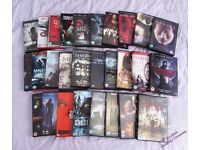 Large Selection of Horror Movies - As New - Horror Scary Films
