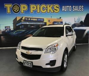 2014 Chevrolet Equinox 2LT AWD,V6, CHROME WHEELS, BACK UP CAM, L