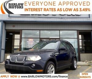 2007 BMW X3 3.0i*EVERYONE APPROVED* APPLY NOW DRIVE NOW.
