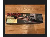 Revlon Pro-Collection Rose Gold Curling Iron.
