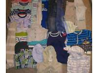 Baby boy bundle size 3-6m
