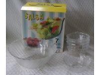 Seven Piece Glassware Set