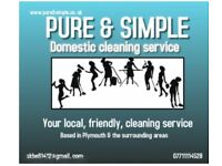 Your local,friendly, cleaning service