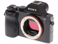 Factory Refurbished- SONY a7s - camera - Body Only - 1250£ - NOT NEGOTIABLE