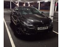 Renault Megane Coupe - Black Pack with 18 Inch Wolfrace Assassin's (New MOT included in deal)