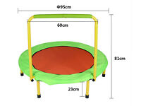 Brand new Portable Collapsible Folding Kids Trampoline (still in box)