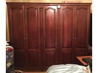 Oak bedroom furniture, good condition