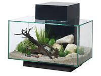 Fluval Edge aquarium 23L with LED upgrade and accessories