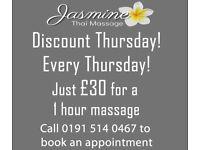 Jasmine Thai Massage - 0191 514 0467