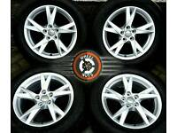 "17"" Gen Audi Q3 VW Tiguan alloys (2016 NEW SHAPE) perfect cond., excel. matchg Bridgestone tyres."