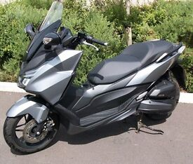 Honda Forza 125 NSS AD-F. Excellent condition. Very low mileage. Learner legal.