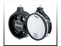 Roland V Drums PD-105 ten inch TOM / SNARE Dual Trigger Mesh Electronic pad 4 for sale REFURBED
