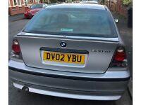 BMW 320 TD SE COMPACT SILVER
