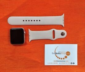 Apple Watch (Sport, Rose Gold, 42mm) with Rose Gold Wrist-straps