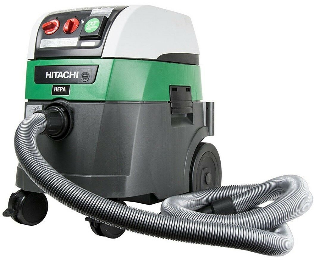 hitachi-rp350ydh-9-2-gal-wet-dry-commercial-hepa-vacuum-with-auto-filter-clean