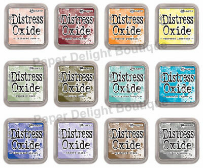 IN STOCK Tim Holtz Distress Oxide Ink Pads - All 12 NEW 2018 Colors - Release #3