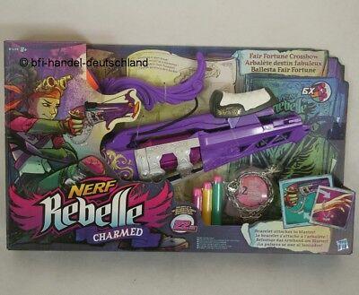 Nerf Rebelle Charmed Darts Pfeile Girl Armbrust Spielzeug Hasbro B1698EU4 Neu!!! Nerf Rebelle Armbrust