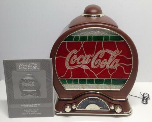 Electronic Coca Cola Cookie Jar Radio