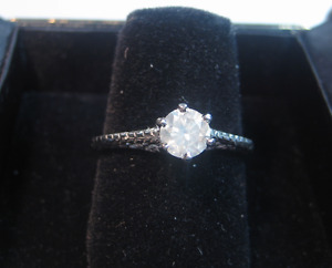 New 0.62 CT Solitaire Diamond Engagement Ring