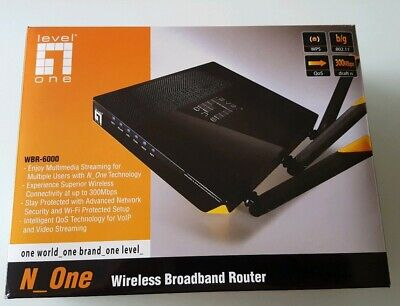 LevelOne WBR-6000  Wireless Broadband Router