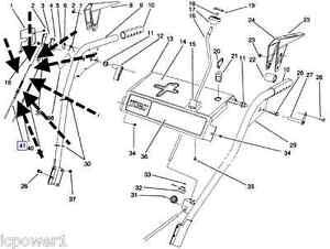 Toro Parts 824 Snowthrower