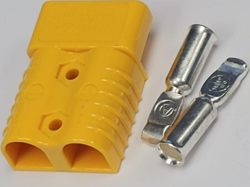Anderson Style SB175 Connector Kit Yellow 1/0,2, 4 Awg 6328G1 -  Anderson Style