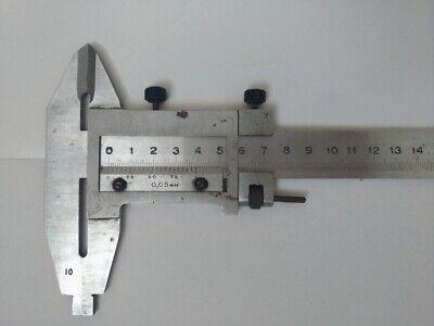 "TTC CID-24 0-24/"" Hardened Steel Fine Adjust Heavy Duty Vernier Caliper"