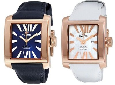 Tw Steel Unisex Ceo Goliath 37Mm Rose Gold Pvd   Option Of Ce3017 And Ce3016