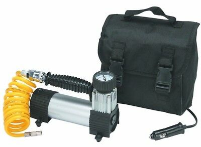12 Volt 100PSI Car Auto  HIGH VOL 12V ELECTRIC PORTABLE Tire AIR PUMP