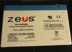 Zeus pc9-12SF2 battery