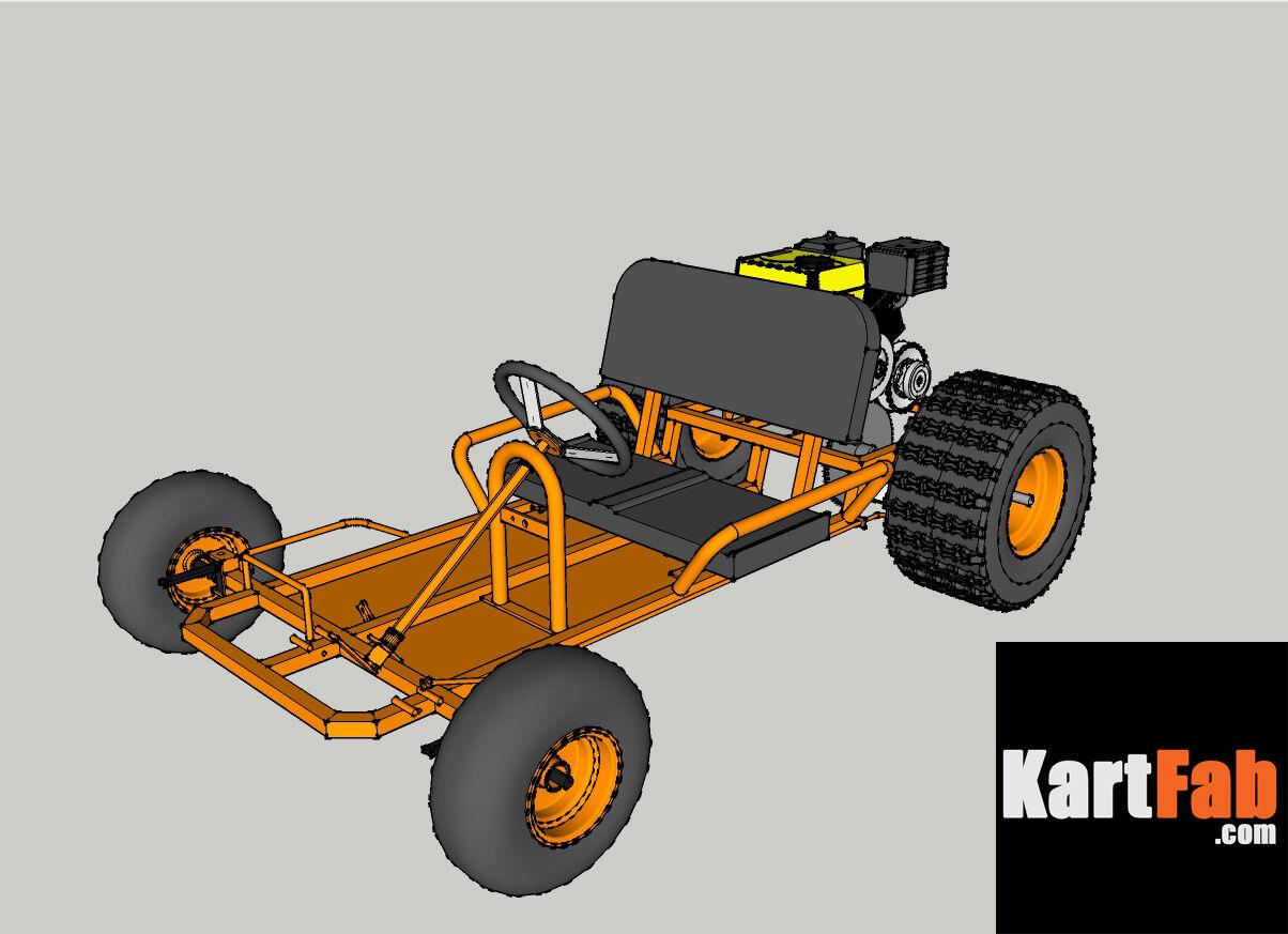 Go Kart Plans 349 Picclick Comet Torque Converter Off Road Gear 3 Of 7