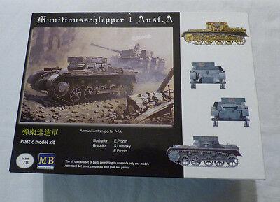 MB  1: 35  - Munitionsschlepper 1 Ausf. A - OVP Bausatz