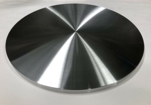 "ALUMINUM ROUND DISC 12"" DIAMETER X 1/2"" THICK🇺🇸BAR PLATE MANY SIZES LISTED USA"