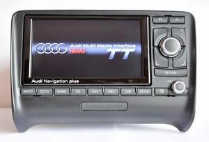Latest 2018 maps DVD Audi TT TTS TT RS 8J RNS-E CHROME PIANO GLOSSY! navigation