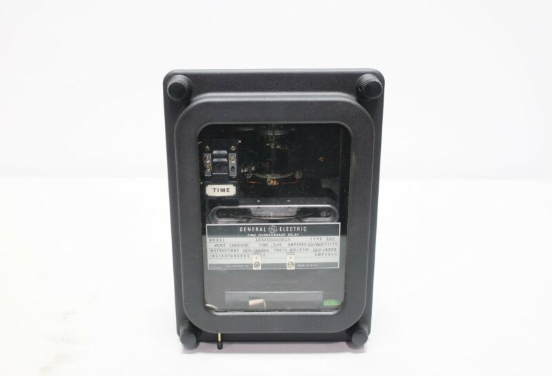General Electric Ge 12IAC53A801A Type Iac 0.5-4a Amps Time Overcurrent Relay