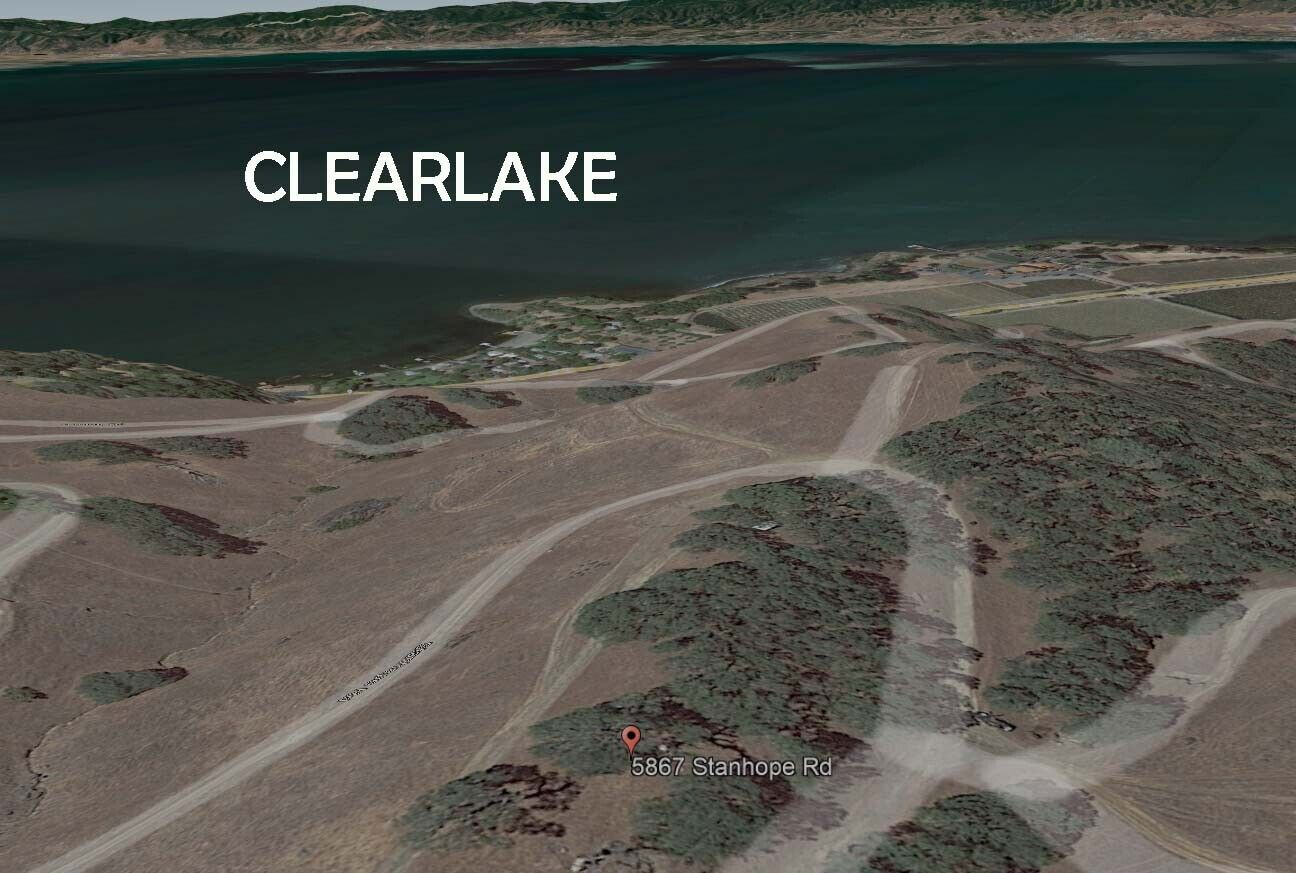 CLEARLAKE, CALIFORNIA - VACANT LOT WITH LAKE VIEW 99 DOWN  - $99.00