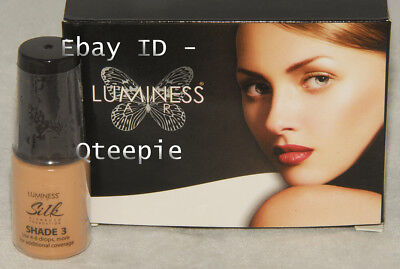 LUMINESS AIR - Airbrush Foundation - SHADE 3 SILK Finish Med Blonde BEIGE *NEW