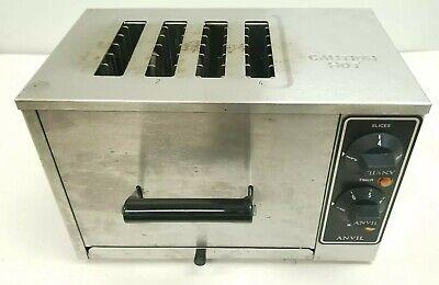 Anvil Commercial 4 Slice Toaster Model Tsa 1204 120v 1750w Commercial Stainless