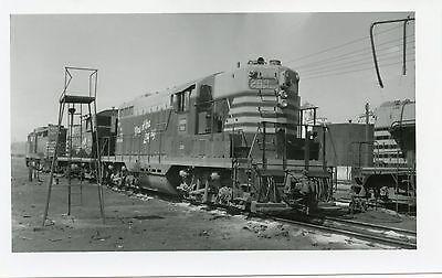 6CC841 1965 CB&Q BURLINGTON RAILROAD ENGINE #288 N. KANSAS CITY MO - Burlington City