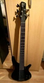 Ibanez SDGR-305 5 String Electric Bass and Hard Case Bundle