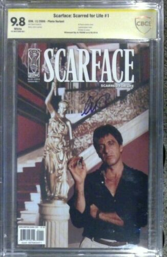 Scarface: Scarred for Life #1 photo__CBCS 9.8 SS__Signed by Al Pacino - not CGC
