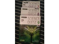 Years 7,8,9 GCSE Science Quest (with ebooks)