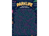 2x Sunday Parklife tickets