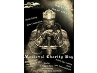 MEDIEVAL CHARITY EVENT NEAR SOUTHPORT IN SUPPORT OF MACMILLAN TRUST