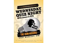 Quiz Teams Wanted for Weekly Glasgow Pub Quiz. Quizmasters/Hosts/Comperes for Hire too!