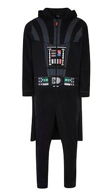 DARTH VADER  / Adult Star Wars Jumpsuit (onsie onesy onesi) S M L XL Cape