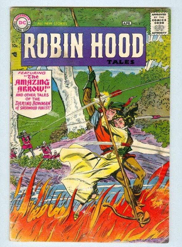 Robin Hood #8 G April 1957